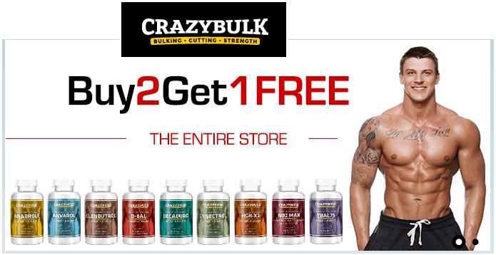 Crazy-Bulk-Buy 2 get 1 free