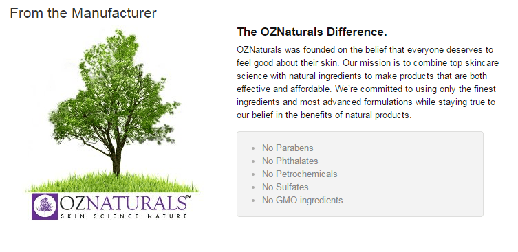 OZNaturals Hyaluronic Acid Serum