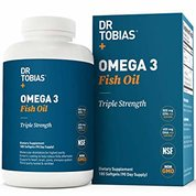 Dr Tobias Omega 3 Fish Oil Triple Strength