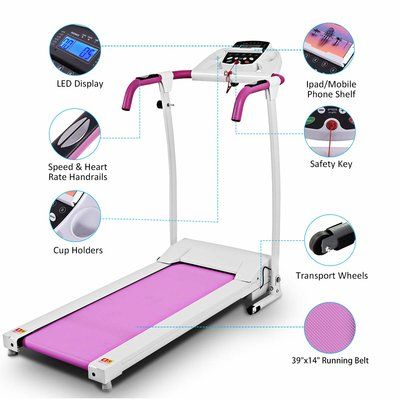 GOPLUS Folding Treadmills