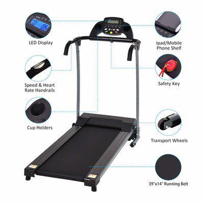 Goplus 800W Folding Treadmills