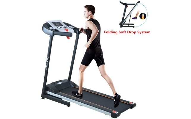 Shayin Folding Treadmill