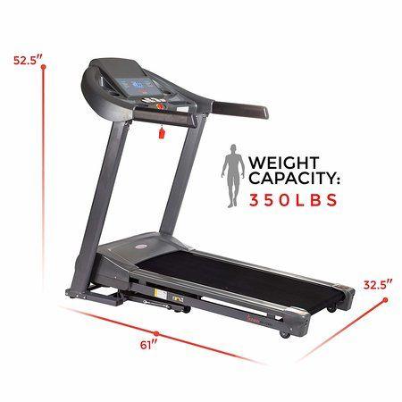 Sunny Health & Fitness T7643 Heavy Duty Walking Treadmills