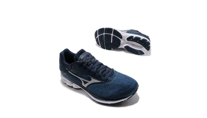 Mizuno Mens Wave Rider 23 Waveknit Running Shoe