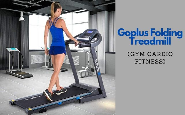 Goplus 2.25HP Electric Folding Treadmill