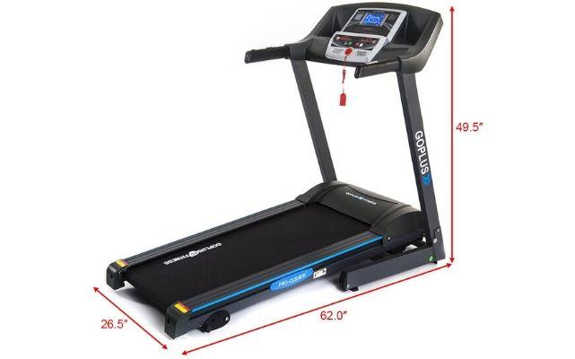 Goplus MotorizedFolding Treadmill