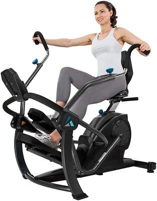 Teeter FreeStep Recumbent Cross Trainer and Elliptical – LT1