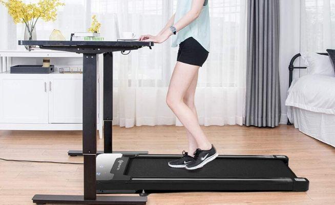 Goplus Under Desk Electric Treadmill