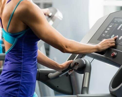 Treadmill Calorie Burn Display