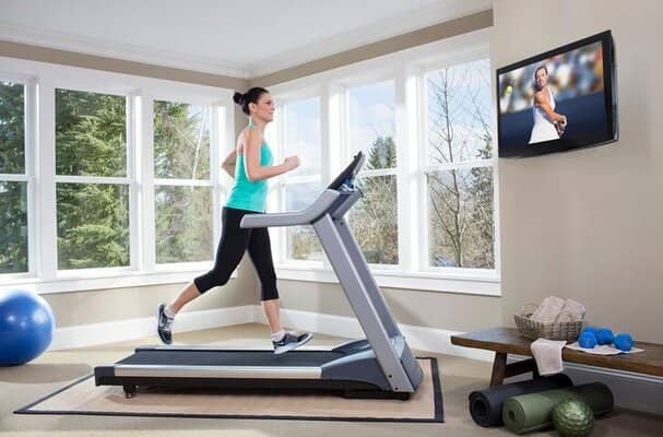 Workout without inclining the treadmill