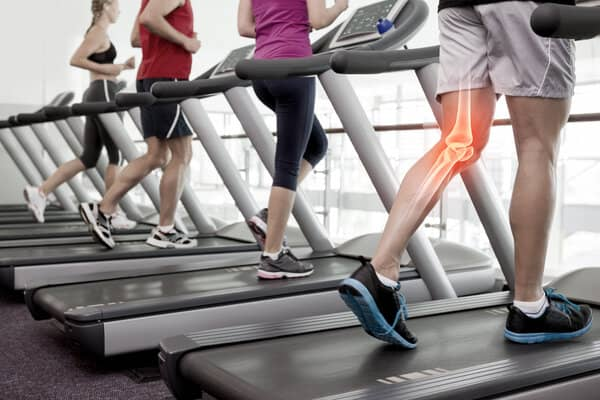 How the treadmill impacts knees